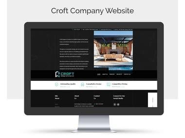 Croft Design & Construct Website