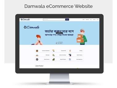 Damwala eCommerce Website