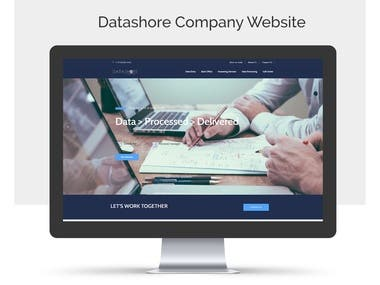 Datashore Website