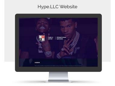 Hype.llc Website