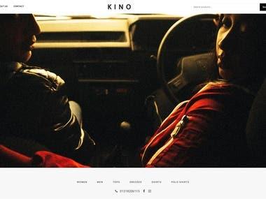 Kino eCommerce Website