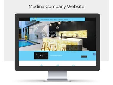 Medina Company Website
