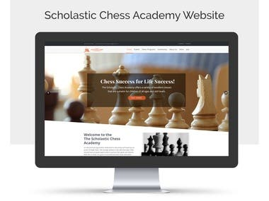 Scholastic Chess Academy Website