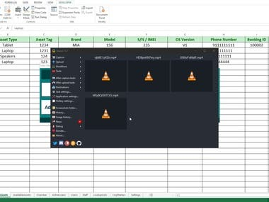 Excel Management Tool