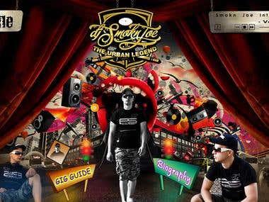 DJ JOE   Flash Website