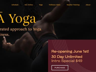 Ma Yoga Online Yoga Class