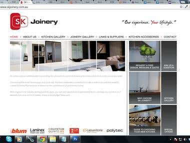 PSD to Wordpress site for a furniture company