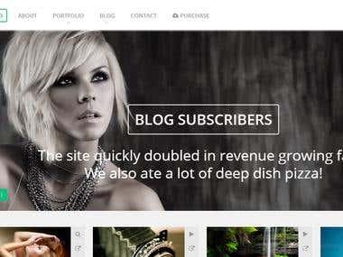 Website & web app portfolio