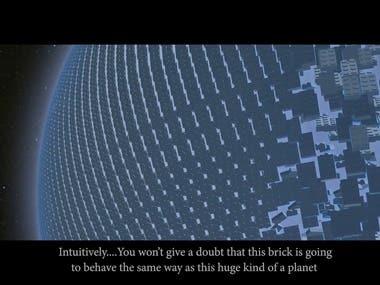 3D Interacting Video