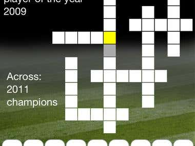 Rugby League Crossword