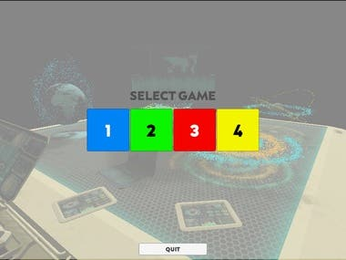 Unity prototype game with a Flask backend