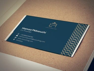 Business Card for Luxuryfrag