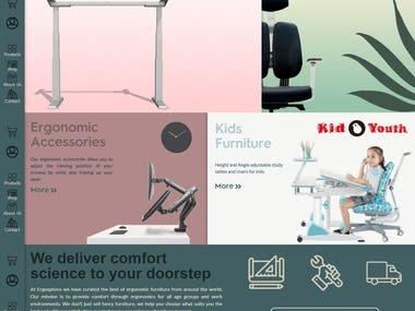 Ecommerce Website based on INDIA