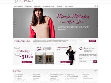 Prestashop - Marie Melodie