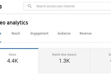 promote your youtube watchtime and help to monetize