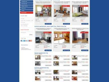 Welt Imobiliare Cluj - Real estate website