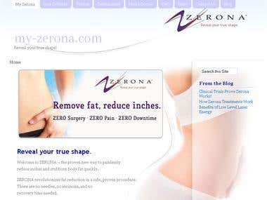 My Zerona Website