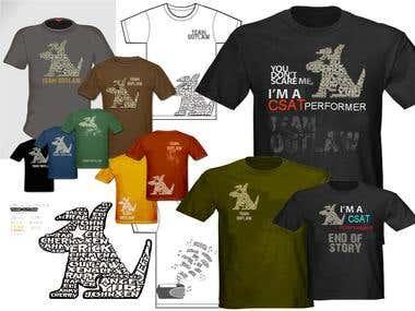 1st place shirt design contest winner