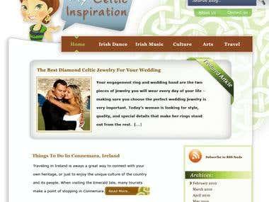 My Celtic Inspiration Website