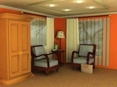 Interior Design in 3dsmax