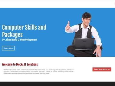 Mocks IT Website