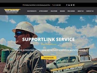 Pilot Crushtec Website