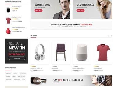 shopify store design