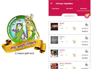 Vegetable Ordering - Multiple app's