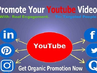 I'll promote and viral your youtube videos to social network