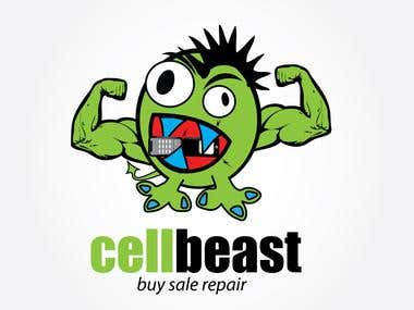 Cellbeast - Custom Logo Design