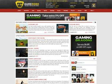 GameRobo.com Design and Integration