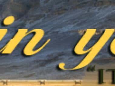 A Website Banner