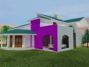 Two story Home with four Bedrooms