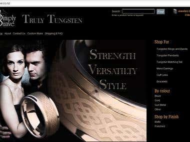 eCommerce wordpress application