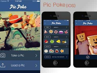 PicPoke (Sticker App)