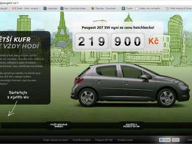 Peugeot 207 - voice recording