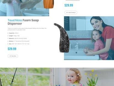 Bricklin Soap Brand Shopify Store