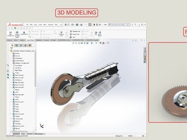 3D modeling and rendering