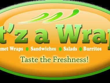 It'z A Wrap - Logo Design