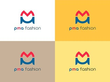 Logo Design for PMA Fashion