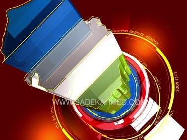 Logo Intro / Channel ID by SADEK AHMED