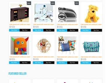 Marketplace Ecommerce Website