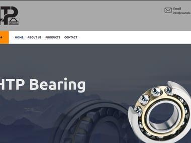 Website for HTP Bearing