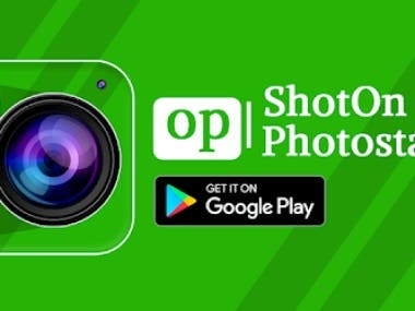 Shot On Stamp for oppo: Watermark Camera & Gallery