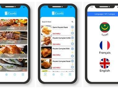 Lescale Restaurants App