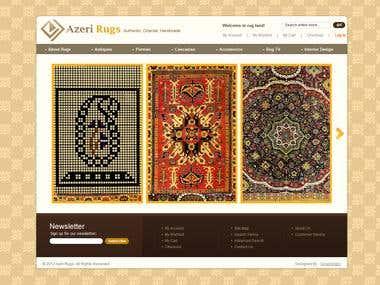 Azeri rugs