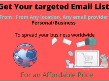 I will provide huge list of bulk emails and email templates