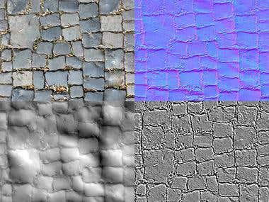 2D Tileble Texture for 3D use