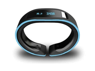 Fitness band design