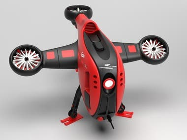 Concept Design For RC JET DRONE